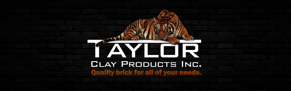 Logo Large - Taylor Clay with Slogan - Darker